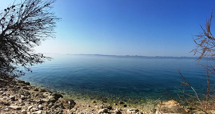 Building land with a unique sea view - Ždrelac, island Pašman